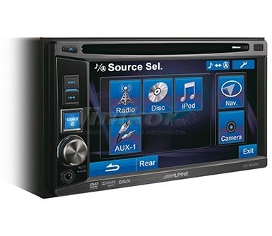 ALPINE IVE-W530E - 2-DIN Мультимедиа станци
