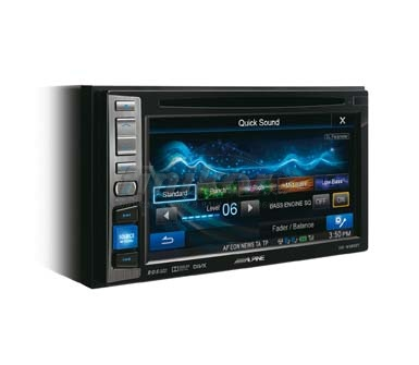 2din магнитола с Bluetooth - ALPINE IVE-W585BТ